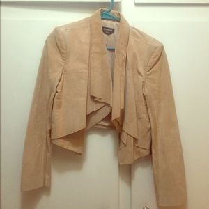 Bebe leather jacket/blazer